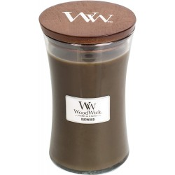 WoodWick Vonná svíčka váza Oudwood 609,5 g