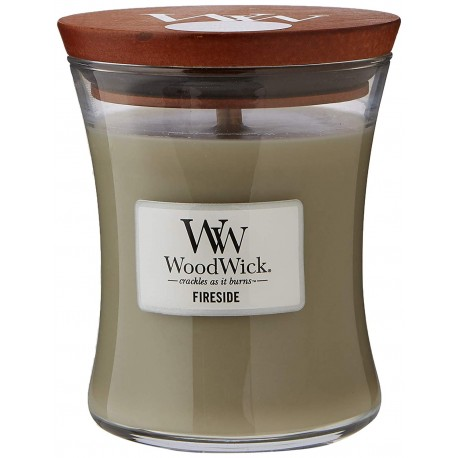WoodWick Vonná svíčka Fireside 275 g
