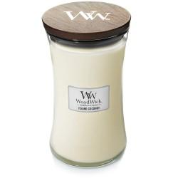 WoodWick Vonná svíčka Island Coconut 85 g